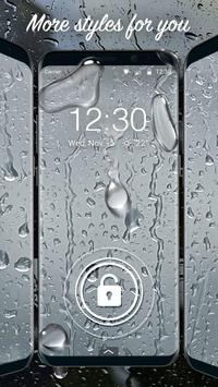Waterdrop lock screen for you screenshot 2