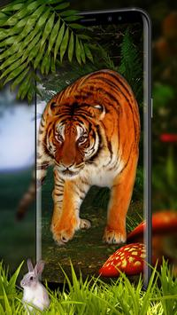 Tiger Live Wallpaper 2018 screenshot 1