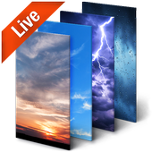 Real Time Weather Live Wallpaper icon