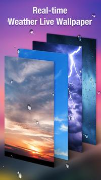 Real Time Weather Live Wallpaper poster