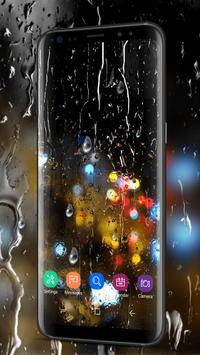 Waterdrops Live Wallpaper 2018 screenshot 1