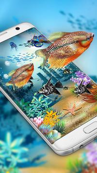 Aquarium style live wallpaper&moving background screenshot 2
