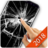 Broken Glass Wallpaper for Android icon