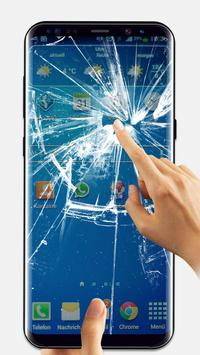 Broken Glass Wallpaper for Android poster