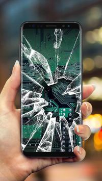 Cracked Screen WallpaperPrank Screenshot 2