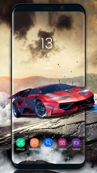 Luxury car Wallpaper poster