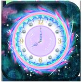 Colorful Clock Live Wallpaper icon