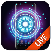 Fancy Neon Spinner Live Wallpaper icon