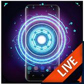Fancy Neon Spinner Live Wallpaper icon