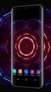 Fancy Neon Spinner Live Wallpaper apk screenshot