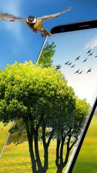 Green garden Wallpaper Free poster