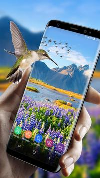 Green garden Wallpaper Free apk screenshot
