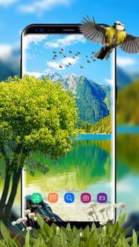 Green garden Wallpaper Free apk screenshot