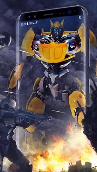 Hero Live Wallpaper - Car Battle apk screenshot