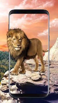 Lion Live Wallpaper Free apk screenshot