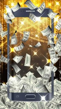 Money live wallpaper apk screenshot