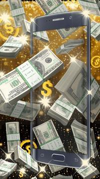 Money live wallpaper apk screenshot