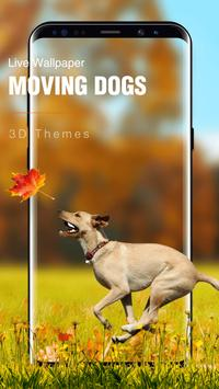 Cute Puppy Dog Live Wallpaper poster