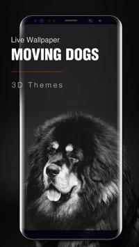 Cute Puppy Dog Live Wallpaper screenshot 2