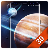 Solar live wallpaper galaxy Space icon
