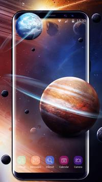Solar live wallpaper galaxy Space poster