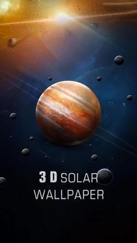 Solar live wallpaper galaxy Space screenshot 1