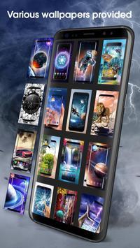 Solar live wallpaper galaxy Space screenshot 7