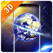 Space HD wallpaper Free icon