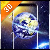 Space HD wallpaper Free icon