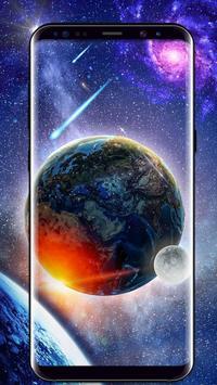 Space HD wallpaper Free apk screenshot