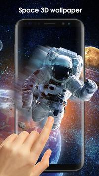 Space Style Live Wallpaper Free screenshot 6
