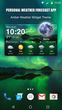 New Weather App & Widget for 2018 poster