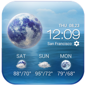 Daily&Hourly weather forecast icon