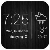 Minimal Style Weather Widget icon