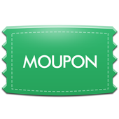Moupon - Coupons at fingers icon