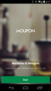 Moupon - Coupons at fingers screenshot 1