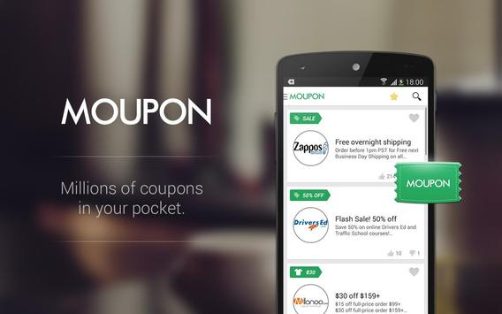 Moupon - Coupons at fingers screenshot 7