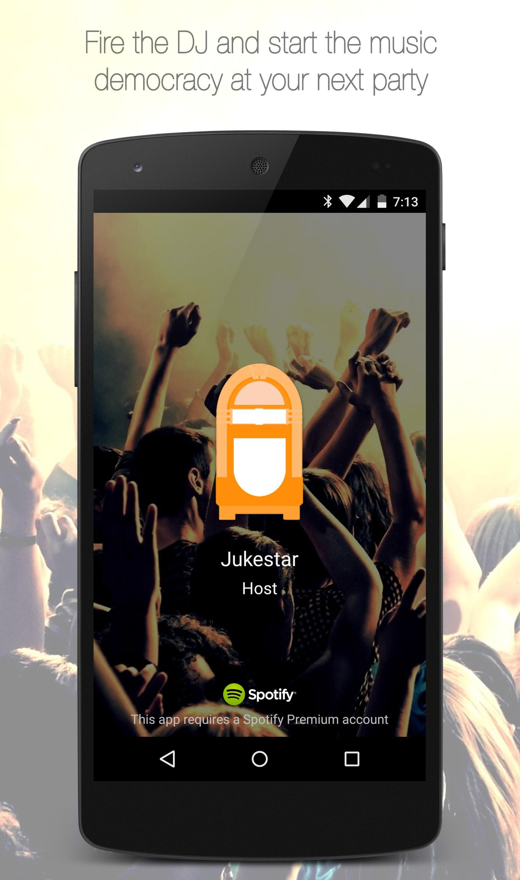 Jukestar - Party Host - Social Jukebox for Spotify for Android - APK