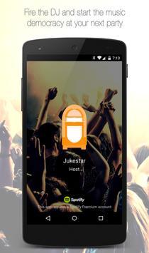 Jukestar - Party Host - Social Jukebox for Spotify screenshot 1