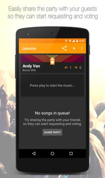 Jukestar - Party Host - Social Jukebox for Spotify screenshot 3