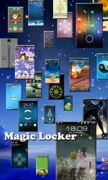 Tear Coupon Magic Locker Theme apk screenshot