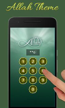 Allah Advance Lock Screen apk screenshot