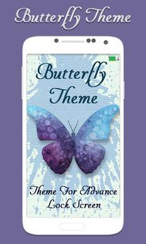 Butterfly Advance Lock Screen poster