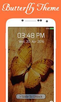 Butterfly Advance Lock Screen apk screenshot
