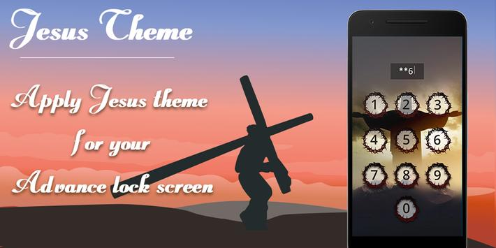 Jesus Advance Lock Screen apk screenshot