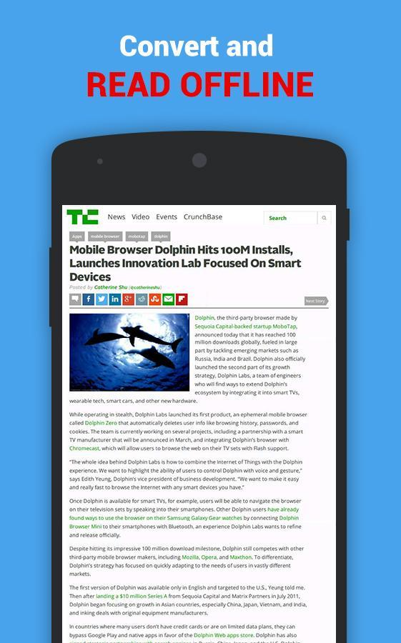 how to download webpage as pdf in mobile