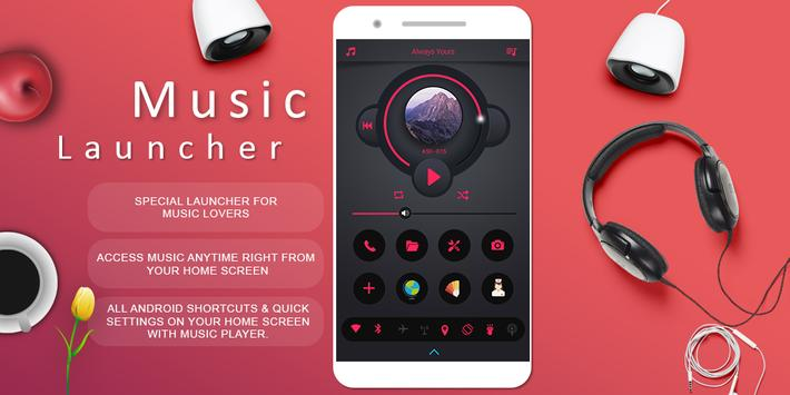 Musical Launcher : For Music Lovers poster