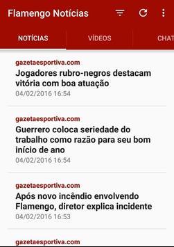 Noticias do Flamengo poster