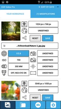 Exif Editor apk screenshot