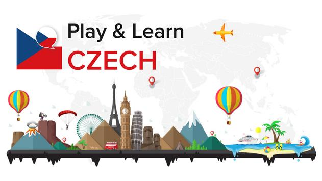 Play and Learn CZECH free poster
